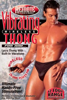 Vibrating Wireless Thong - Men's SE008603