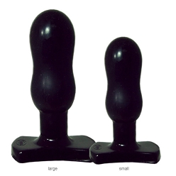 Infinity Butt Plug by Tantus -Small Black