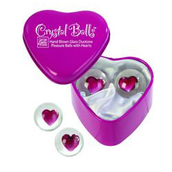 Crystal Balls Heart