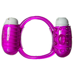 Humm Dinger - Double Dinger Vibrating Dual Cock Ring