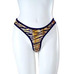 Wild Exotics Remote Control Vibrating Panty - Tiger SE0085003