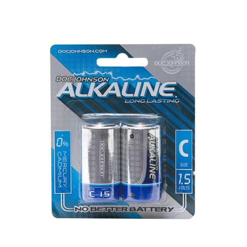Doc Johnson C Batteries 2 Pack - Alkaline