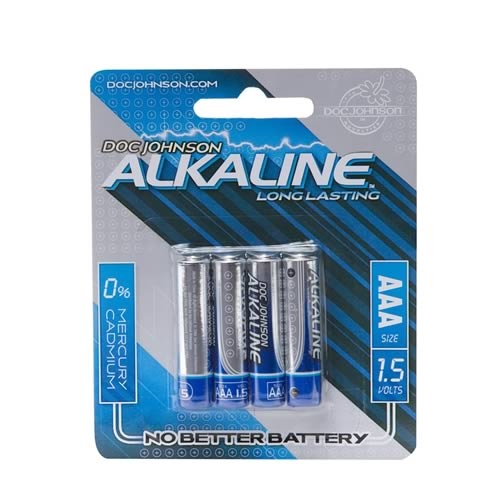 Doc Johnson AAA Batteries 4 Pack - Alkaline