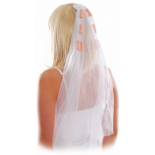 Bachelorette Party Pecker Veil