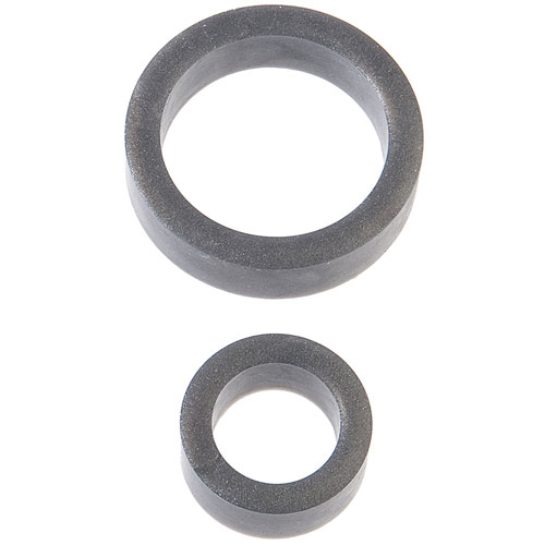 Platinum Silicone C Ring Charcoal