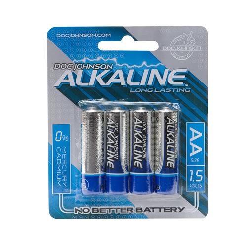 Doc Johnson AA Batteries 4 Pack - Alkaline