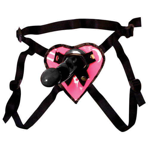 Fetish Fantasy Heart Strap On