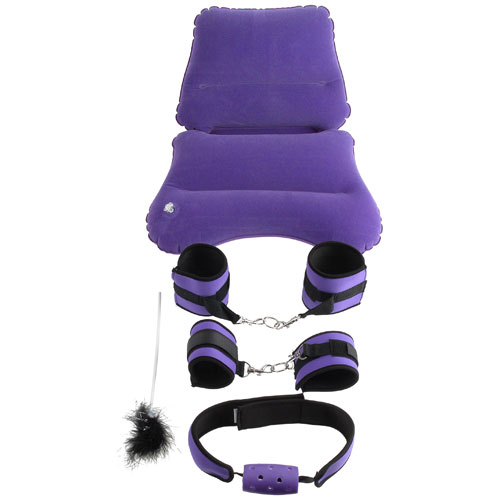 Fetish Fantasy Series Purple Pleasure Bondage Set