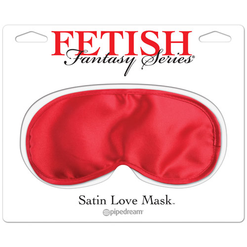 Love Mask-red Satin