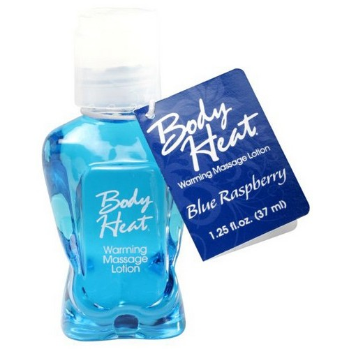 Body Heat 1.25 Oz Blue Raspberry