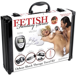 Fetish Fantasy Deluxe Shock Therapy Travel Kit